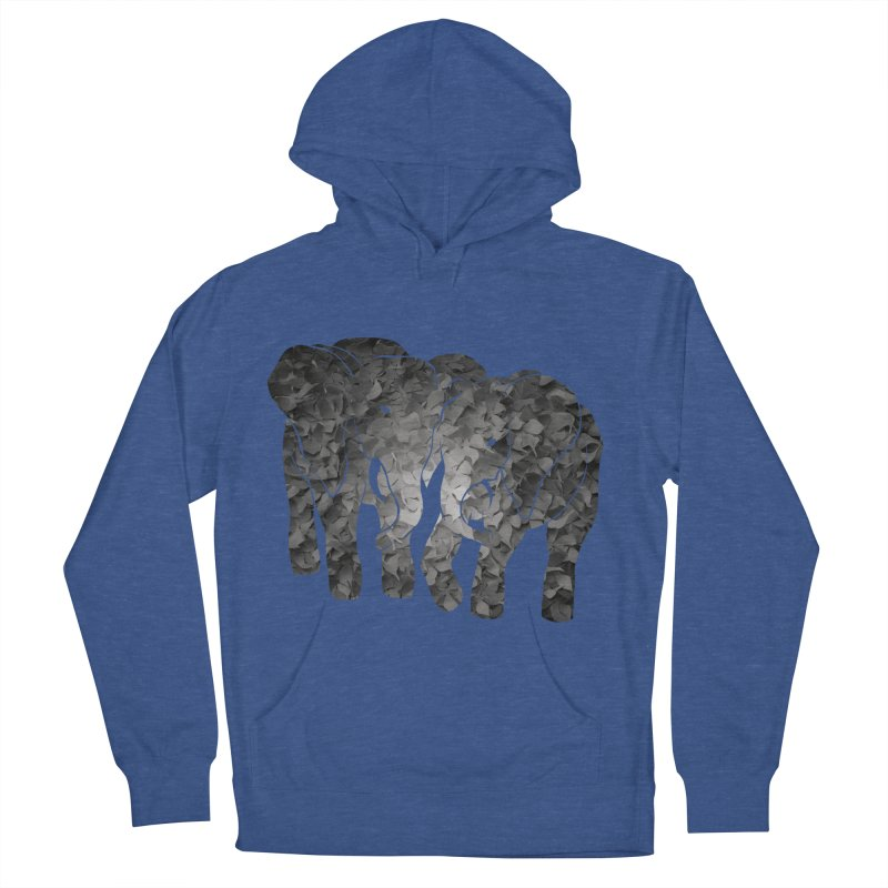 Two elephants Women's Pullover Hoody by MagpieAtMidnight's Artist Shop
