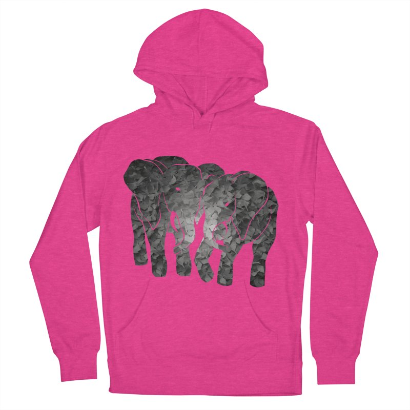 Two elephants Men's Pullover Hoody by MagpieAtMidnight's Artist Shop