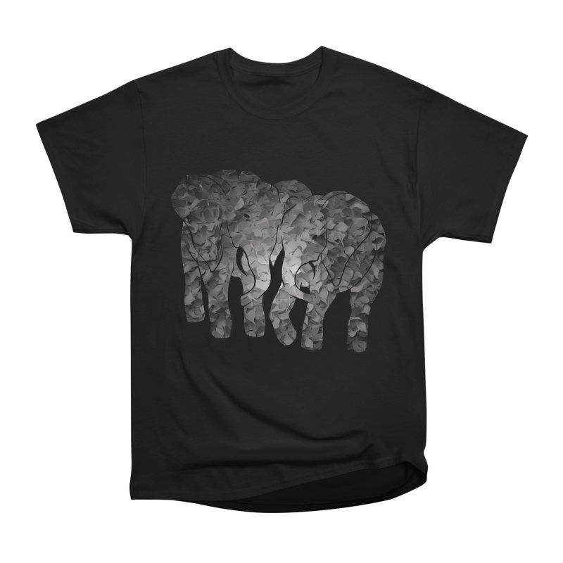 Two elephants Women's Classic Unisex T-Shirt by MagpieAtMidnight's Artist Shop