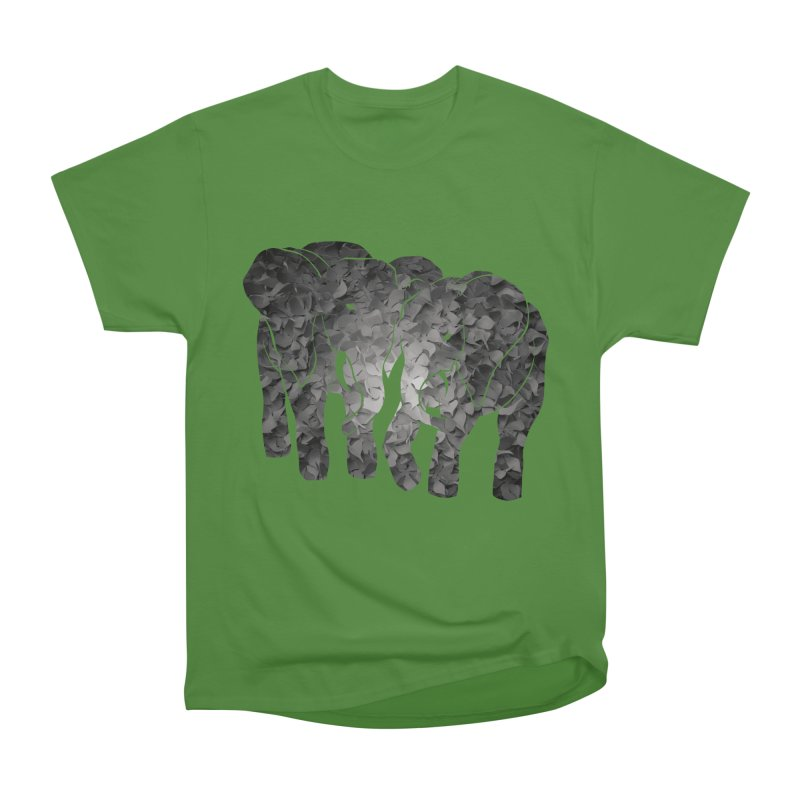 Two elephants Men's Classic T-Shirt by MagpieAtMidnight's Artist Shop