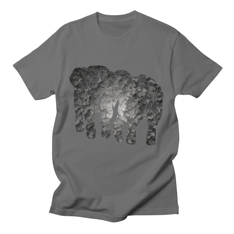 Two elephants Men's T-Shirt by MagpieAtMidnight's Artist Shop