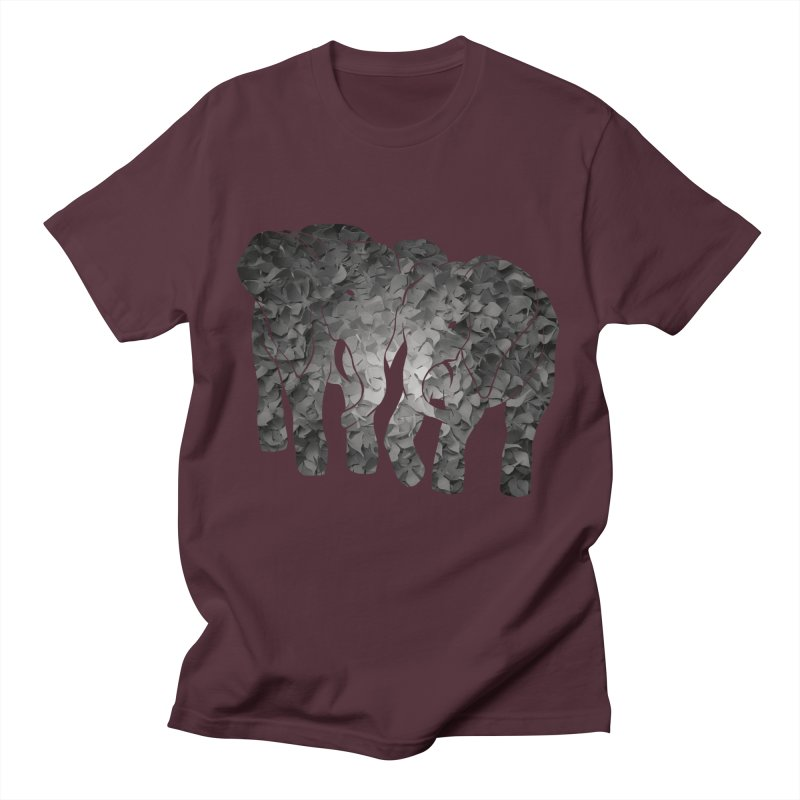 Two elephants Women's Unisex T-Shirt by MagpieAtMidnight's Artist Shop