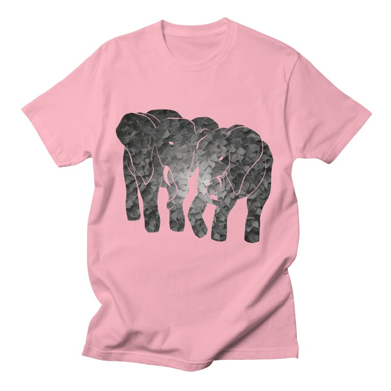 Two elephants Men's T-Shirt by MagpieAtMidnight's Artist Shop