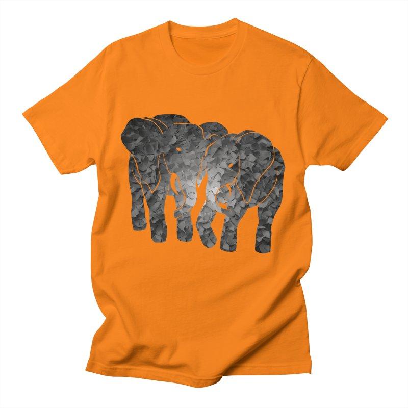 Two elephants Women's Unisex T-Shirt by MagpieAtMidnight's Artist Shop