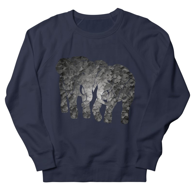 Two elephants Men's Sweatshirt by MagpieAtMidnight's Artist Shop