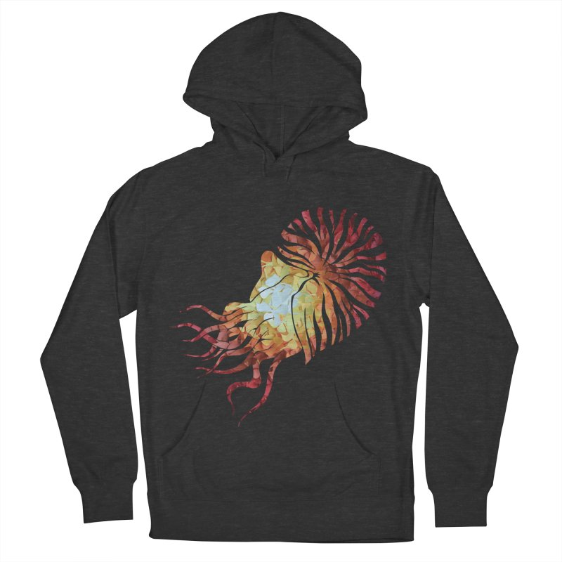 Nautilus Men's French Terry Pullover Hoody by MagpieAtMidnight's Artist Shop
