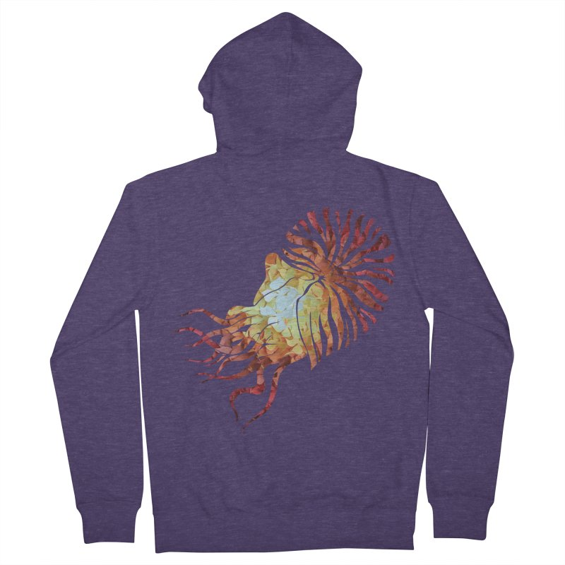 Nautilus Men's French Terry Zip-Up Hoody by MagpieAtMidnight's Artist Shop