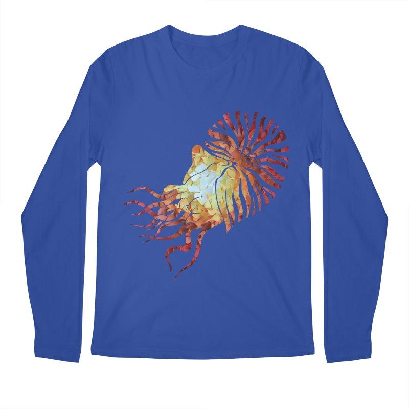 Nautilus Men's Regular Longsleeve T-Shirt by MagpieAtMidnight's Artist Shop