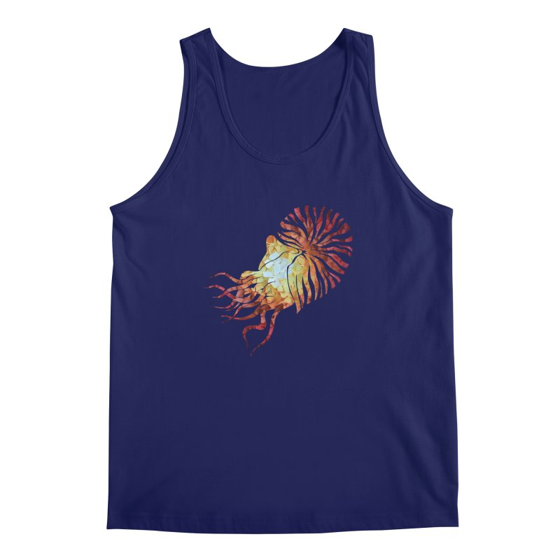 Nautilus Men's Tank by MagpieAtMidnight's Artist Shop