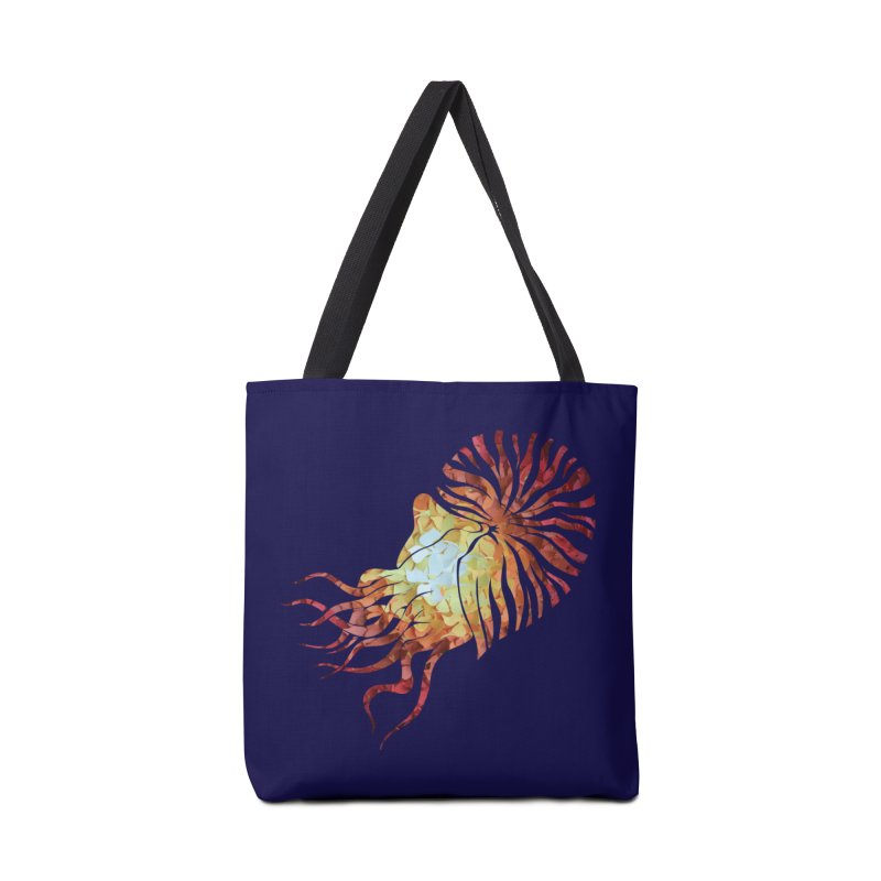 Nautilus Accessories Bag by MagpieAtMidnight's Artist Shop