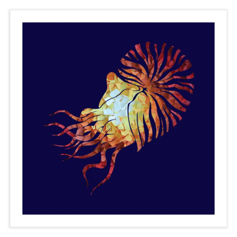 Nautilus Home Fine Art Print by MagpieAtMidnight's Artist Shop