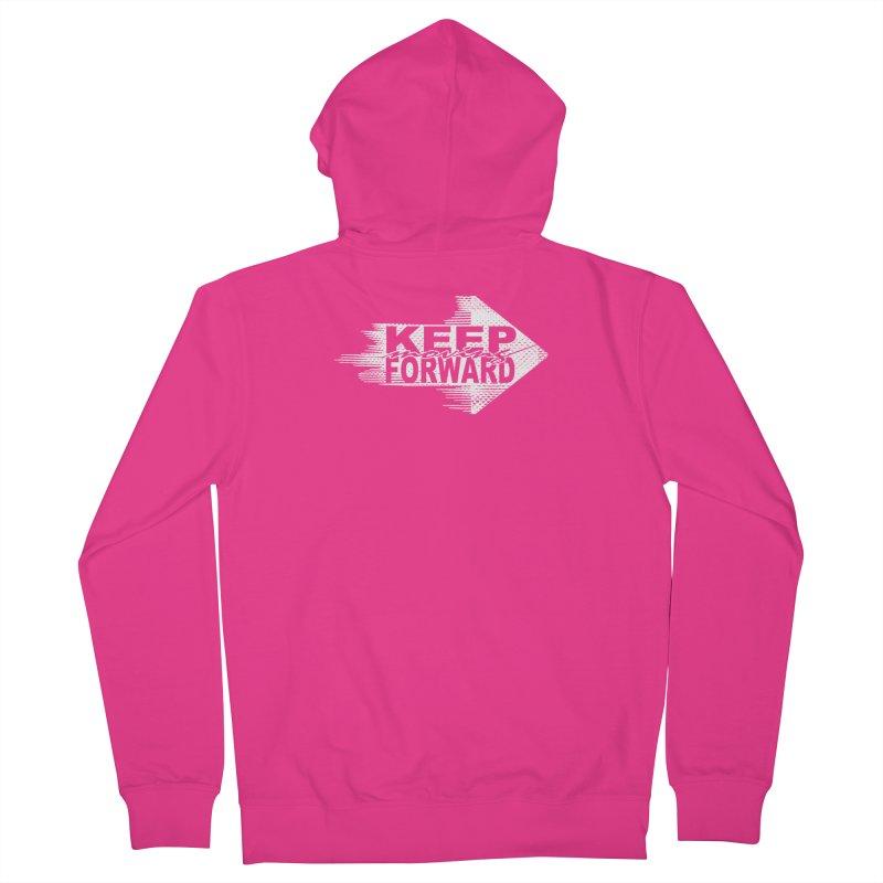 Keep Moving Forward Men's Zip-Up Hoody by Make2wo Artist Shop