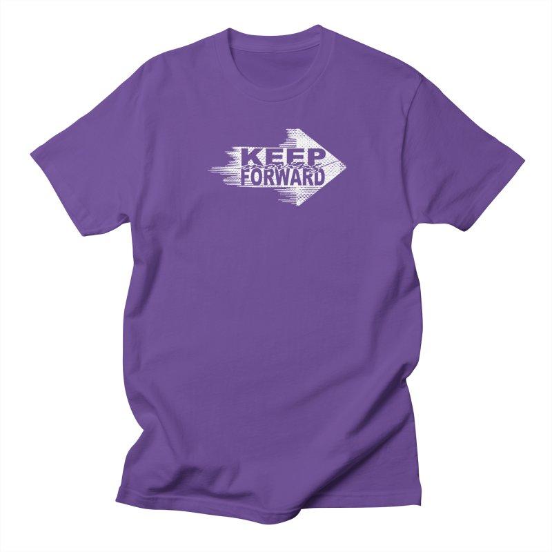Keep Moving Forward Men's Regular T-Shirt by Make2wo Artist Shop