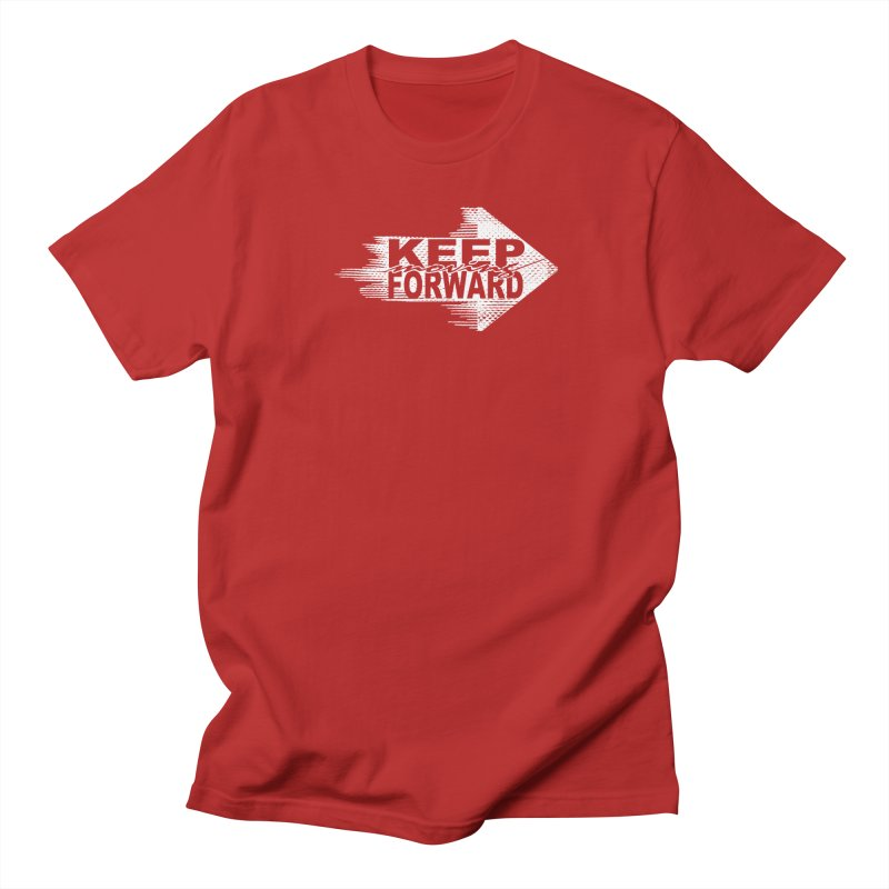 Keep Moving Forward Men's T-shirt by Make2wo Artist Shop