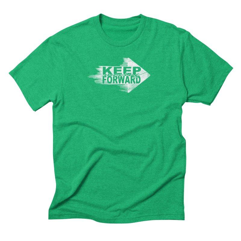 Keep Moving Forward Men's Triblend T-Shirt by Make2wo Artist Shop