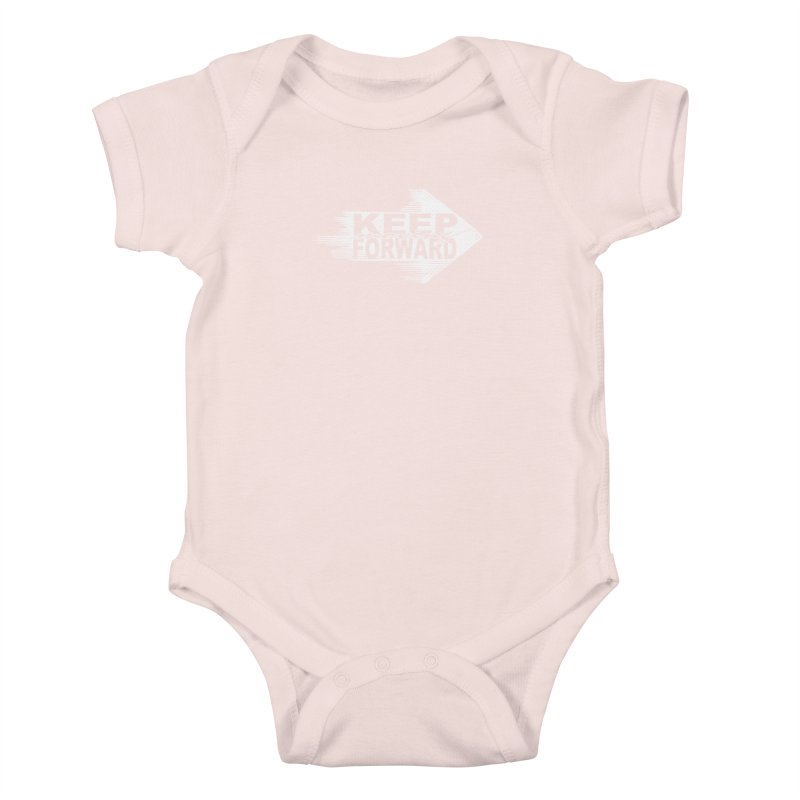 Keep Moving Forward Kids Baby Bodysuit by Make2wo Artist Shop