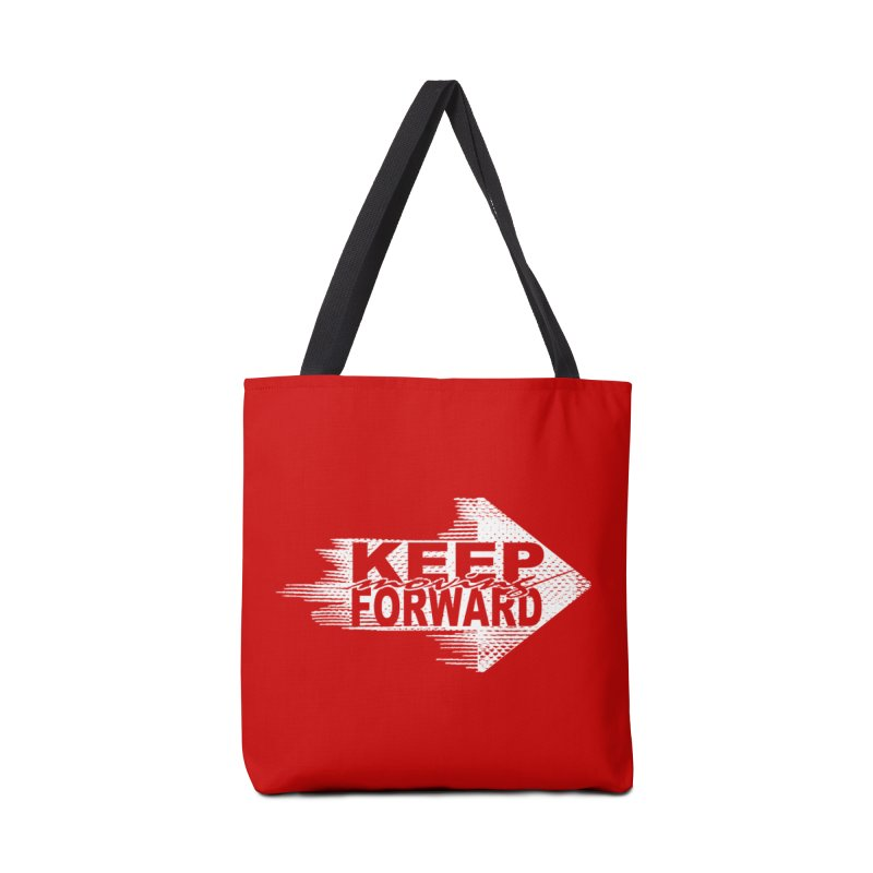 Keep Moving Forward Accessories Bag by Make2wo Artist Shop