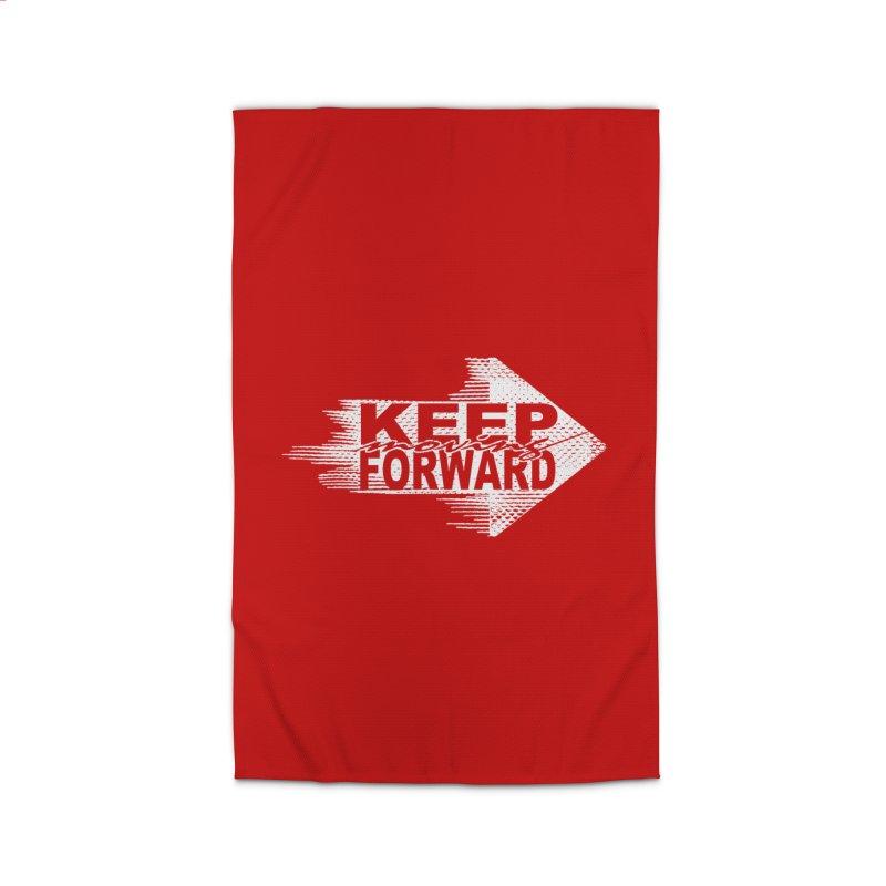Keep Moving Forward Home Rug by Make2wo Artist Shop