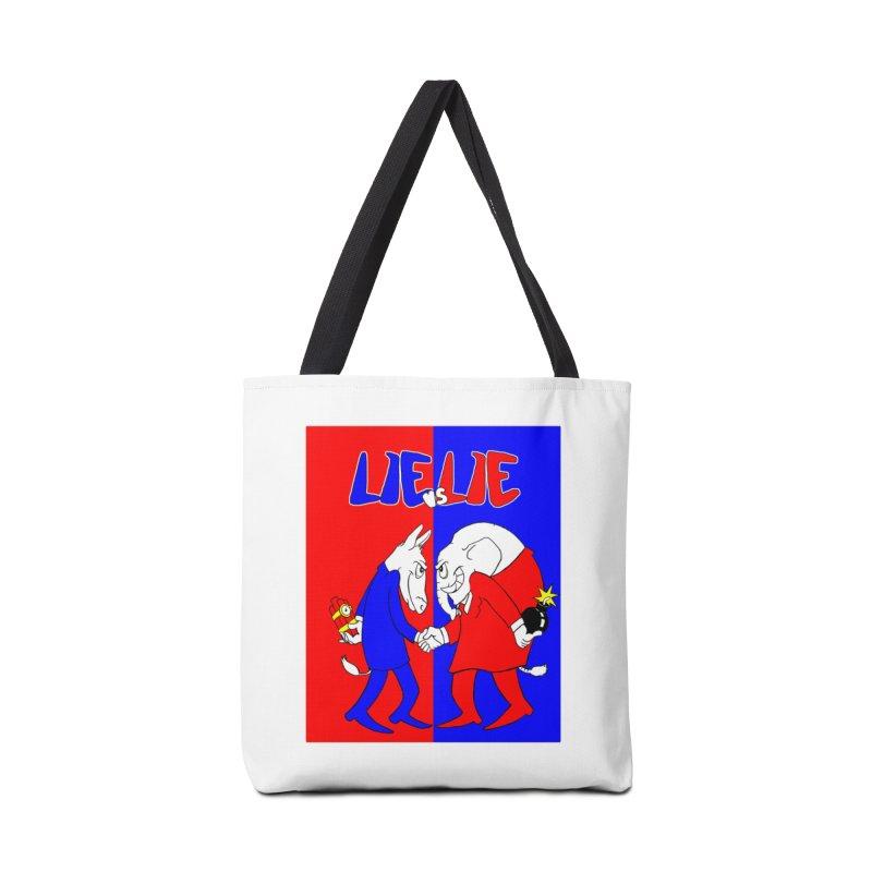 Lie vs Lie Accessories Bag by Make2wo Artist Shop