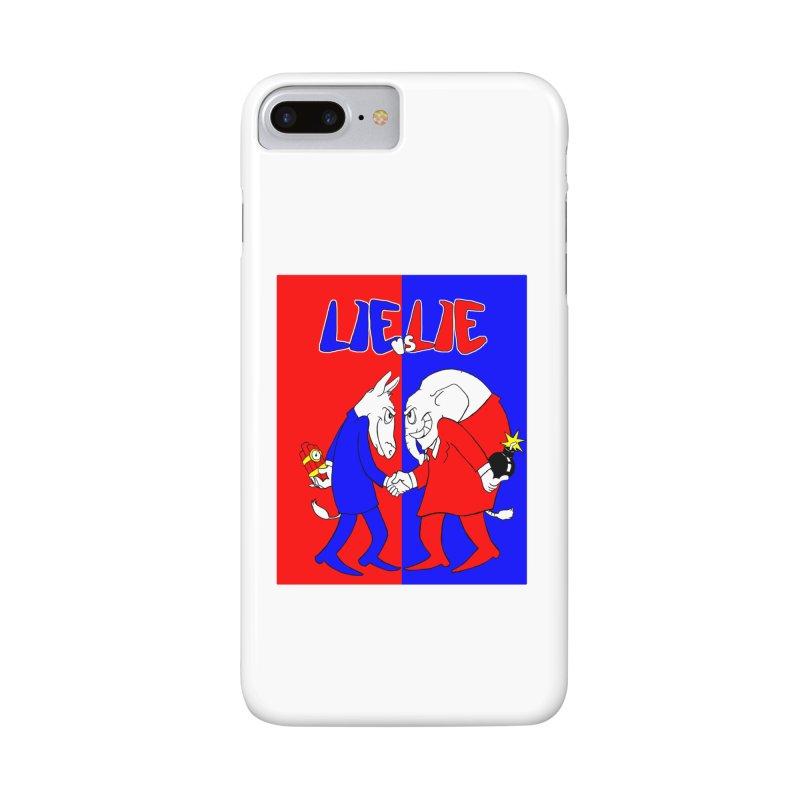 Lie vs Lie Accessories Phone Case by Make2wo Artist Shop