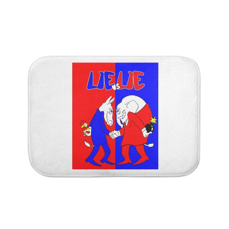 Lie vs Lie Home Bath Mat by Make2wo Artist Shop