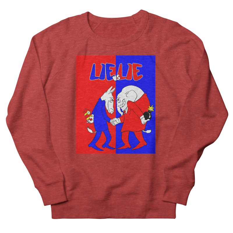 Lie vs Lie Men's Sweatshirt by Make2wo Artist Shop