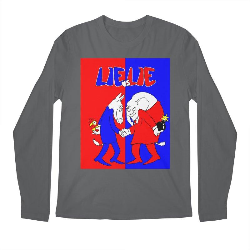 Lie vs Lie Men's Longsleeve T-Shirt by Make2wo Artist Shop