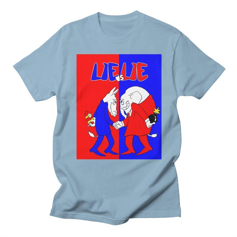 Lie vs Lie Women's Unisex T-Shirt by Make2wo Artist Shop