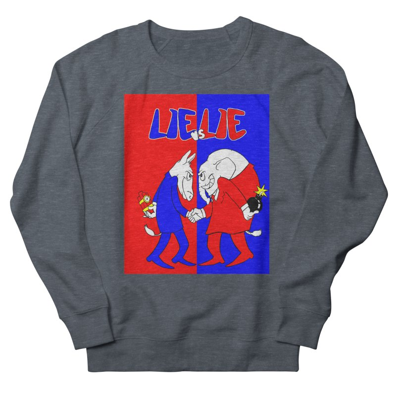 Lie vs Lie Women's Sweatshirt by Make2wo Artist Shop