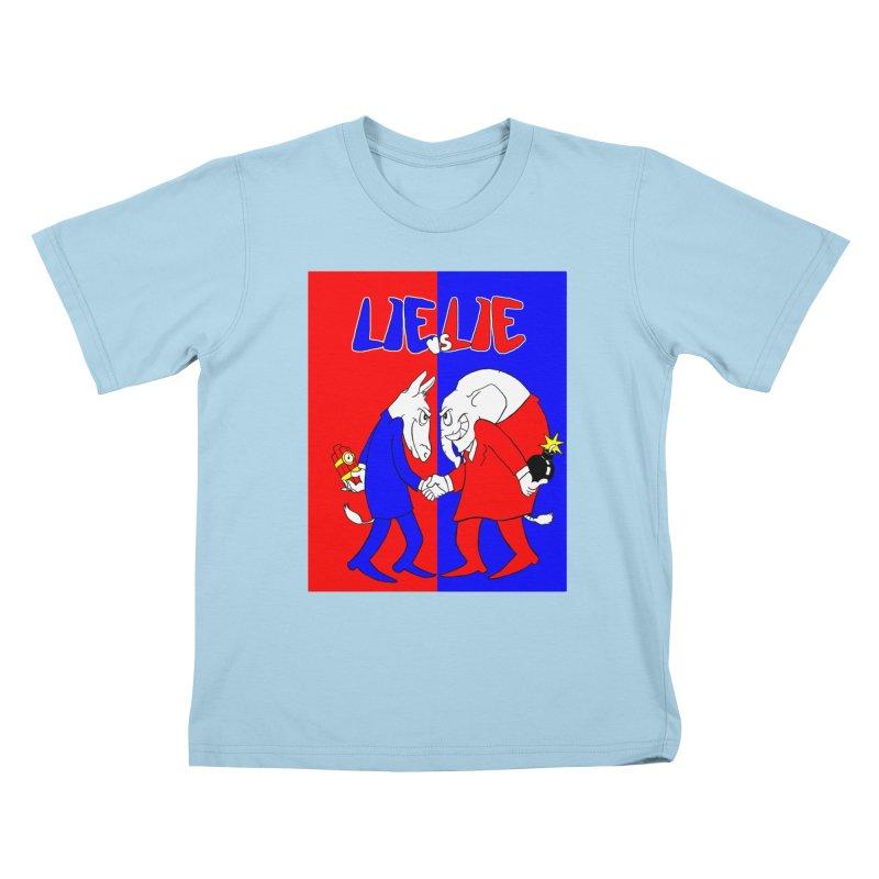 Lie vs Lie Kids T-shirt by Make2wo Artist Shop