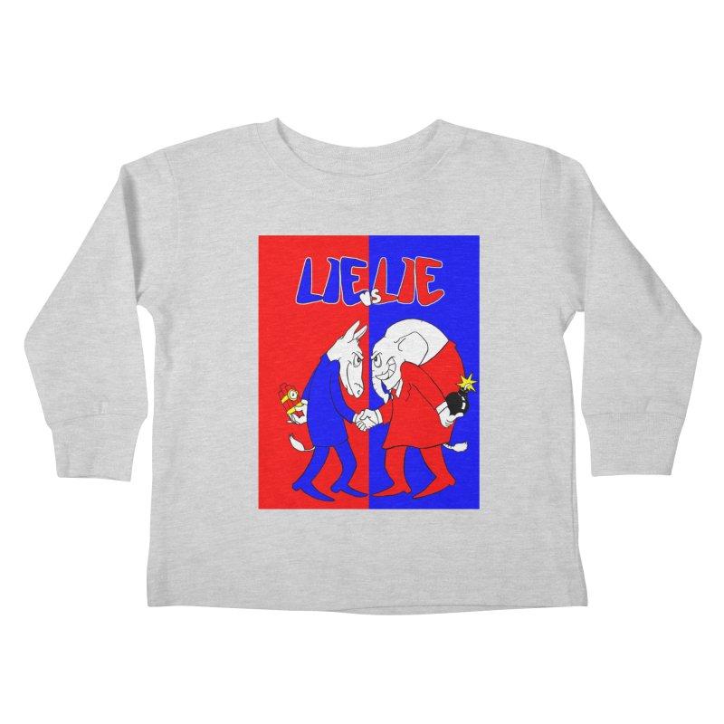Lie vs Lie Kids Toddler Longsleeve T-Shirt by Make2wo Artist Shop