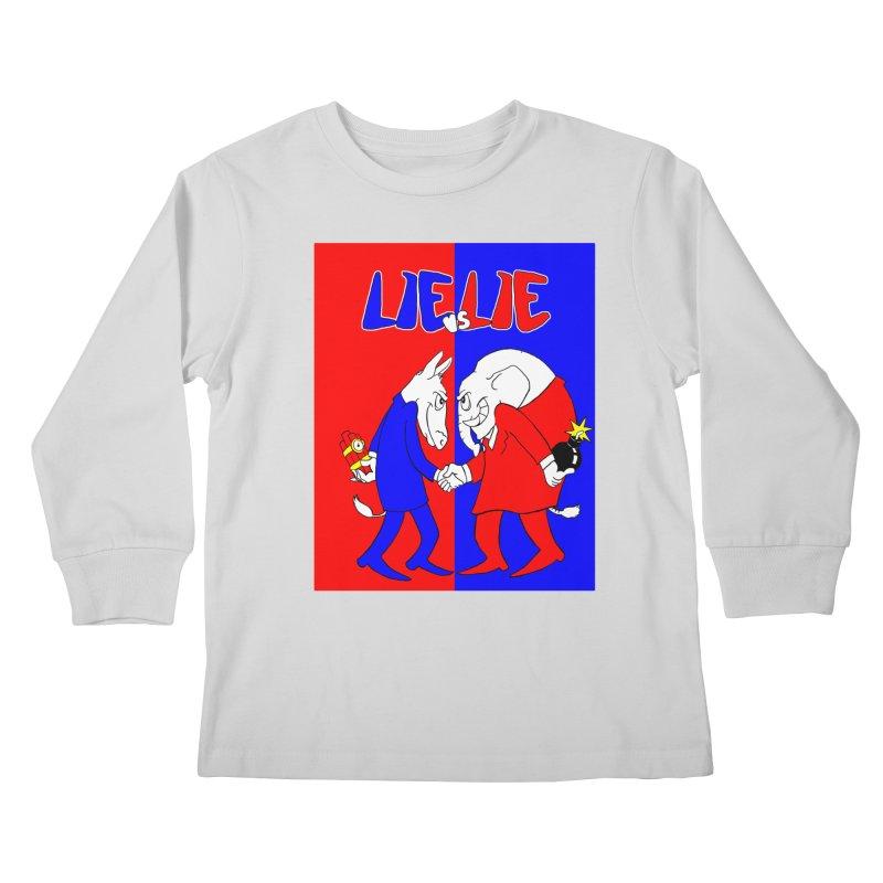 Lie vs Lie Kids Longsleeve T-Shirt by Make2wo Artist Shop
