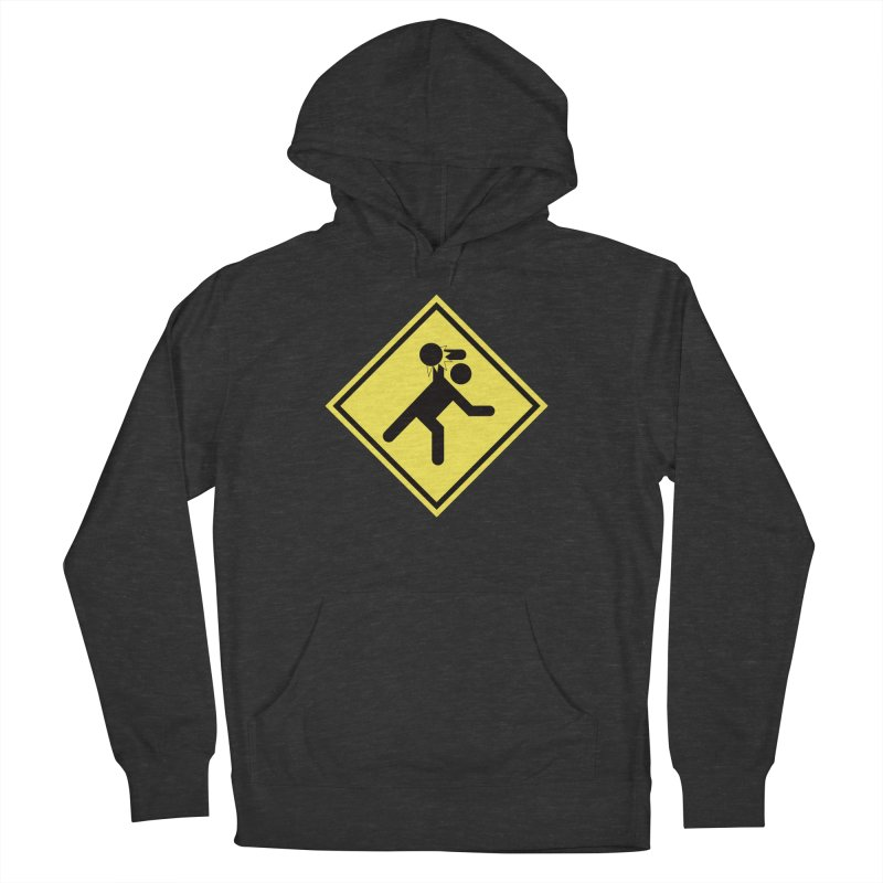 Dodgeball Caution Women's Pullover Hoody by Make2wo Artist Shop