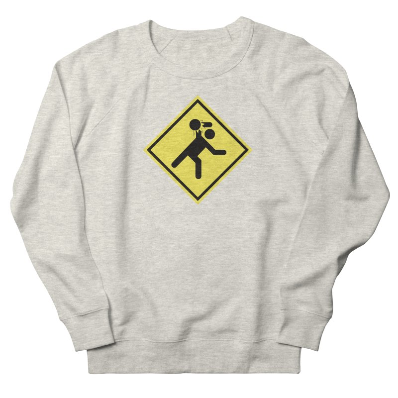 Dodgeball Caution Women's Sweatshirt by Make2wo Artist Shop