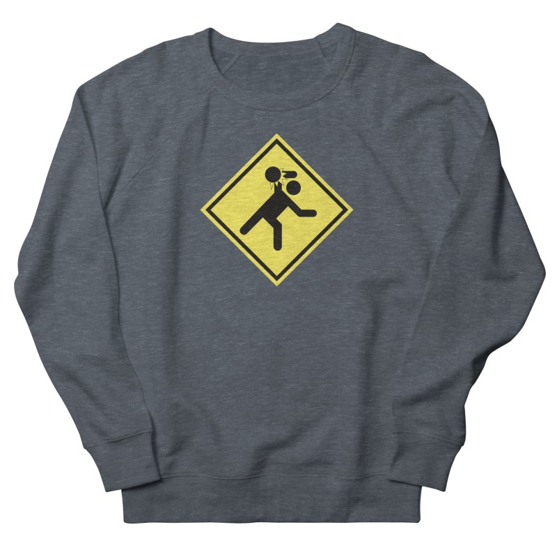 Dodgeball Caution Men's Sweatshirt by Make2wo Artist Shop