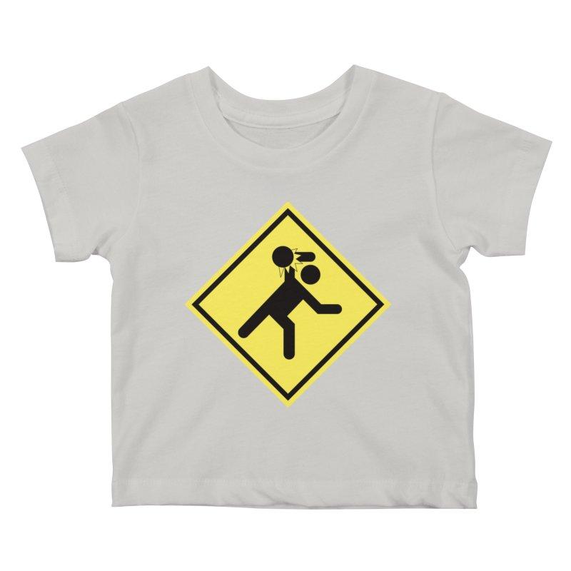 Dodgeball Caution   by Make2wo Artist Shop