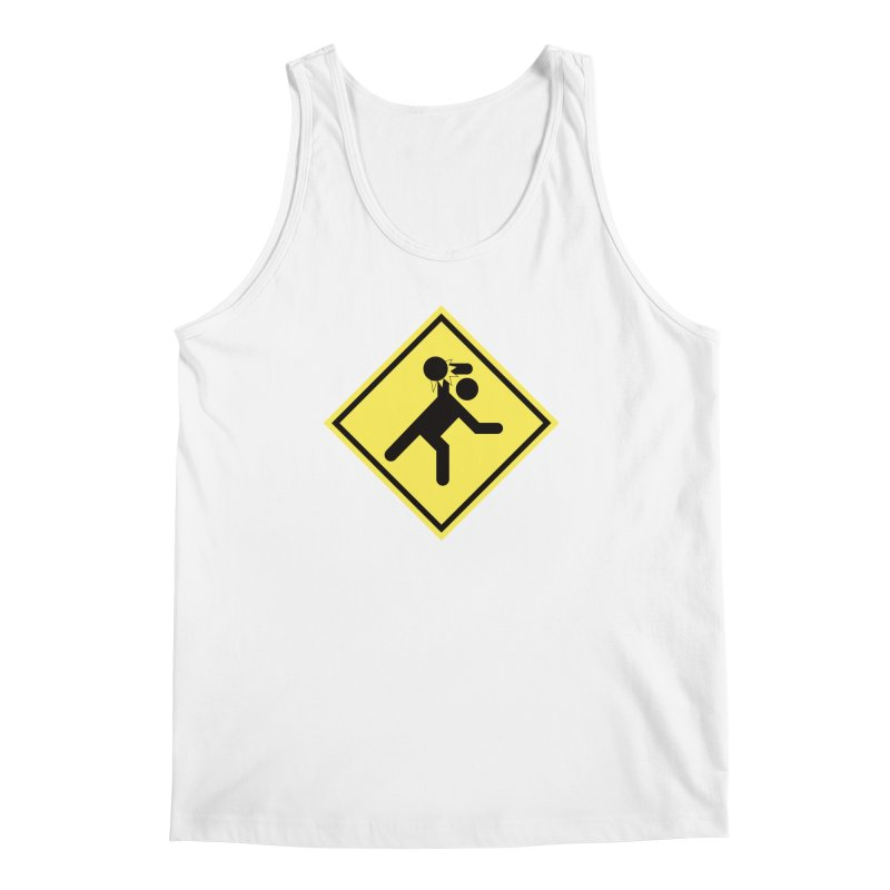 Dodgeball Caution Men's Tank by Make2wo Artist Shop