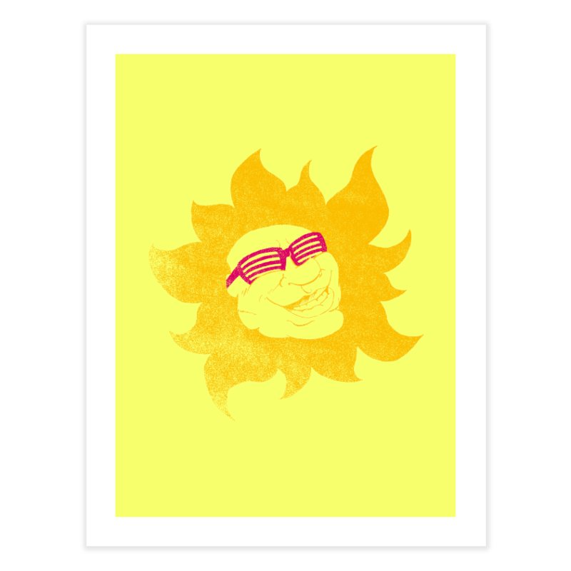 Sun Shutter Home Fine Art Print by Make2wo Artist Shop