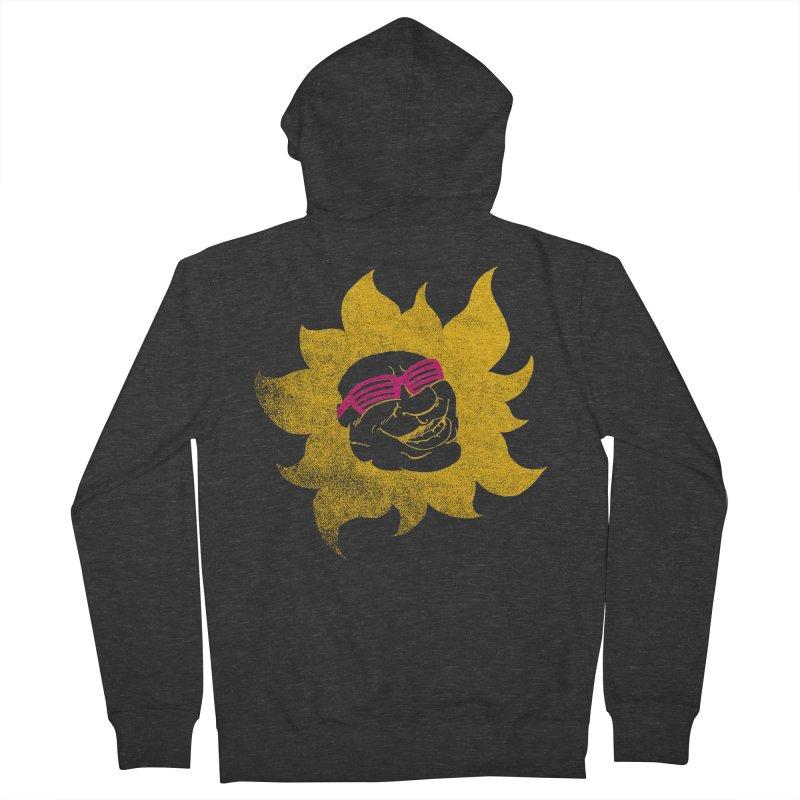 Sun Shutter Men's Zip-Up Hoody by Make2wo Artist Shop