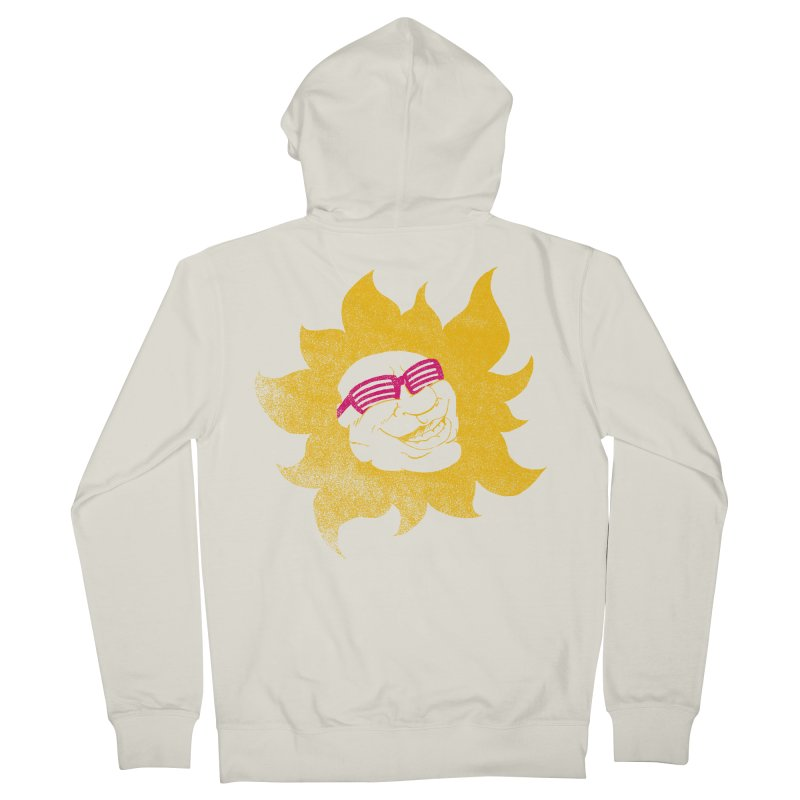 Sun Shutter Men's French Terry Zip-Up Hoody by Make2wo Artist Shop