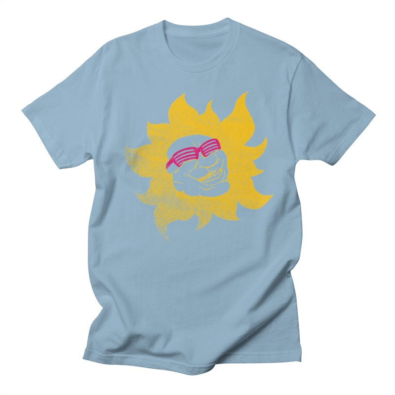 Sun Shutter Men's T-Shirt by Make2wo Artist Shop