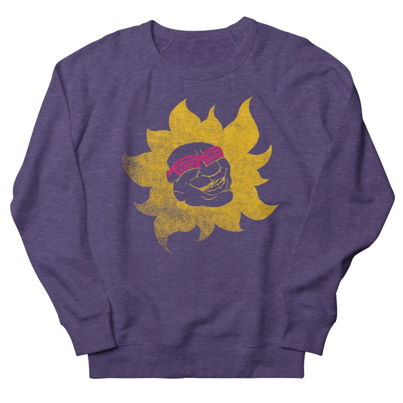 Sun Shutter Men's French Terry Sweatshirt by Make2wo Artist Shop