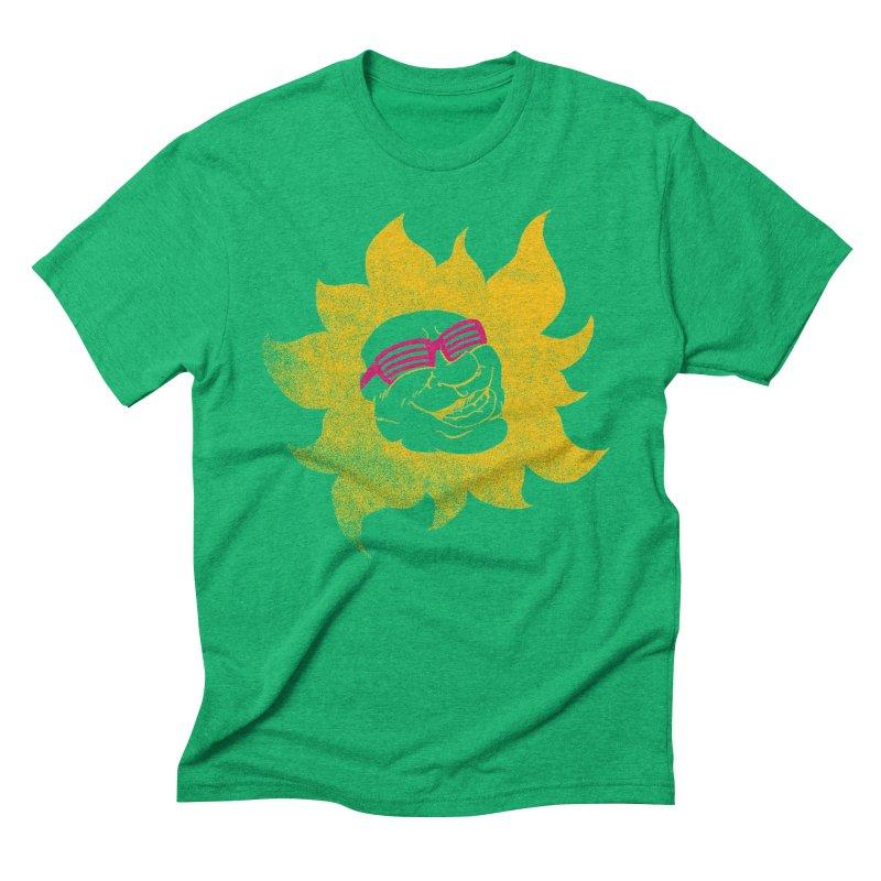 Sun Shutter Men's Triblend T-Shirt by Make2wo Artist Shop