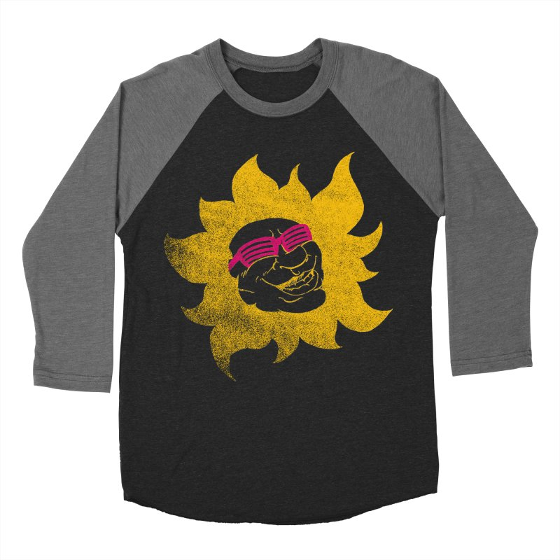 Sun Shutter Men's Baseball Triblend Longsleeve T-Shirt by Make2wo Artist Shop