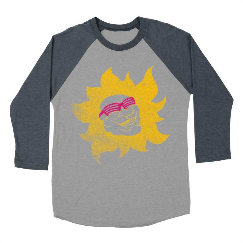 Sun Shutter Men's Baseball Triblend T-Shirt by Make2wo Artist Shop