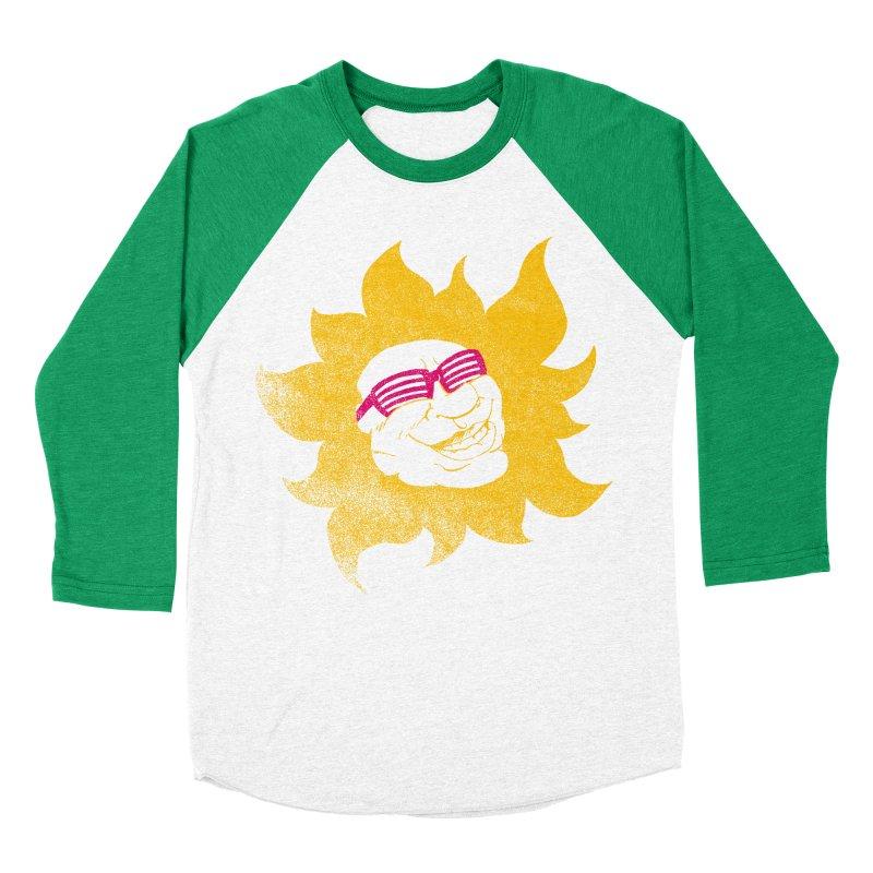 Sun Shutter Men's Baseball Triblend T-Shirt by Make2wo Artist Shop