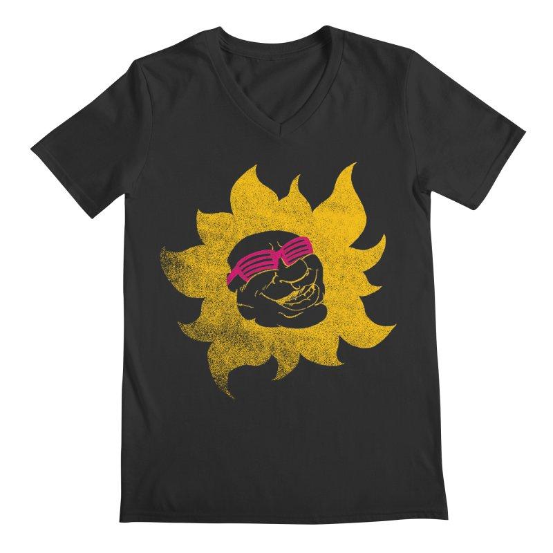Sun Shutter Men's V-Neck by Make2wo Artist Shop