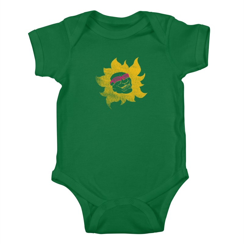 Sun Shutter Kids Baby Bodysuit by Make2wo Artist Shop