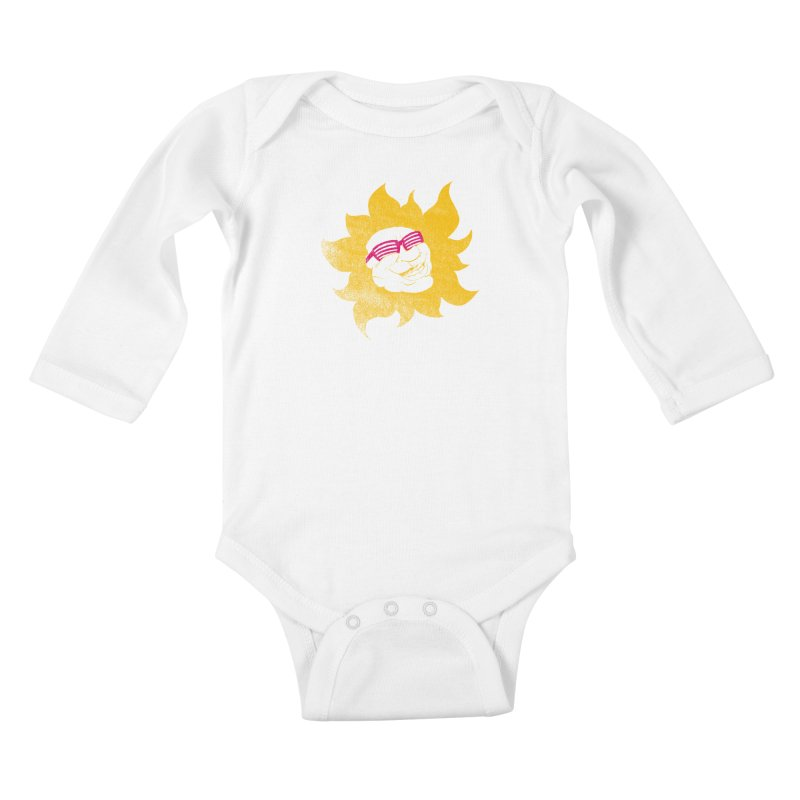 Sun Shutter Kids Baby Longsleeve Bodysuit by Make2wo Artist Shop