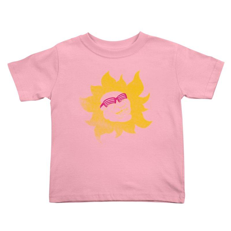 Sun Shutter Kids Toddler T-Shirt by Make2wo Artist Shop